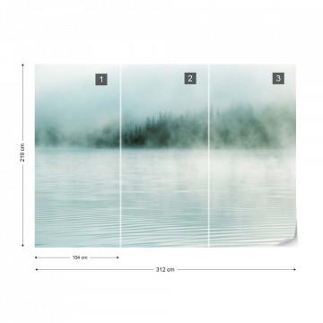 Fototapet - Ceață peste Lac