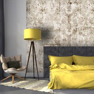 Fototapet - Concrete - Baroque Motif