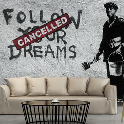 Fototapet - Dreams Cancelled (Banksy)