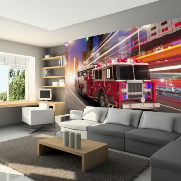 Fototapet - Fire truck
