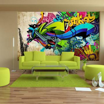 Fototapet - Funky - graffiti