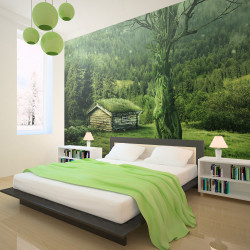Fototapet - Green seclusion