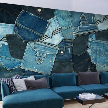 Fototapet - Jeans Pockets