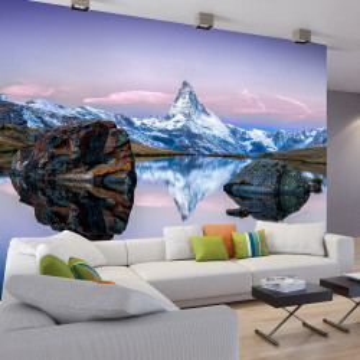 Fototapet - Lonely Mountain