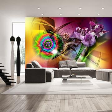 Fototapet - Magic Light of Colors