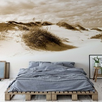 Fototapet - Peisaj cu Dune de Nisip – Sepia