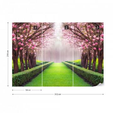 Fototapet - Portal către Grădină