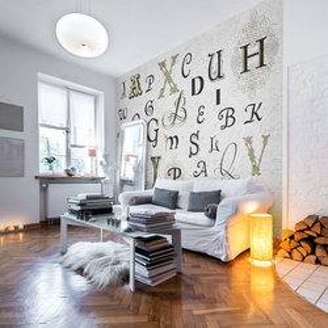 Fototapet - Royal alphabet