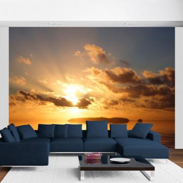 Fototapet - sea - sunset