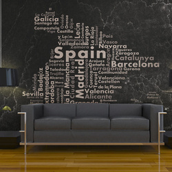 Fototapet - Spain - big cities, small towns...