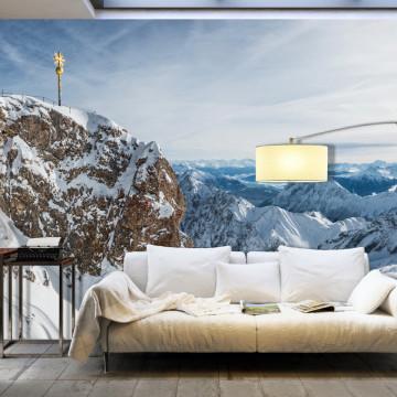 Fototapet XXL - Winter in Zugspitze