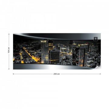 Frankfurt City Skyline Photo Wallpaper Wall Mural
