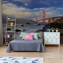 Golden Gate Bridge Photo Wallpaper Mural