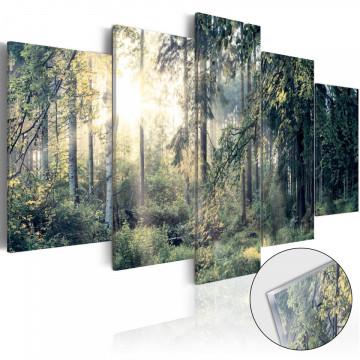 Imagine pe sticlă acrilică - Fairytale Landscape [Glass]