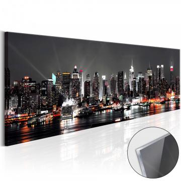 Imagine pe sticlă acrilică - New York Dream [Glass]