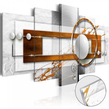Imagine pe sticlă acrilică - Nut-like Energy [Glass]
