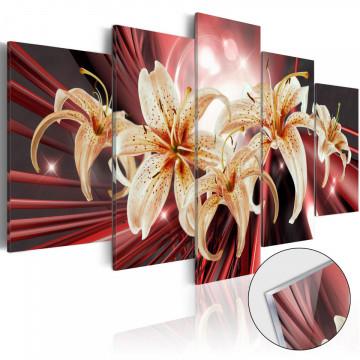 Imagine pe sticlă acrilică - The Magic of Passion [Glass]