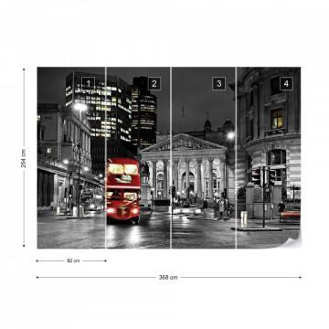 London At Night Photo Wallpaper Wall Mural