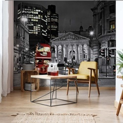 London At Night Photo Wallpaper Wall Mural