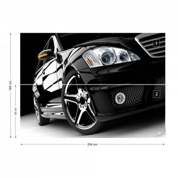 Luxury Car Photo Wallpaper Wall Mural