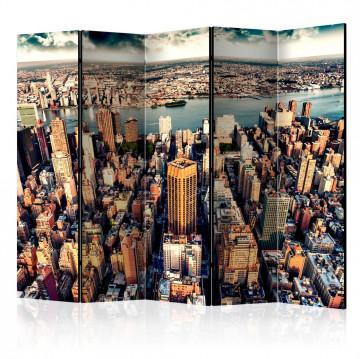 Paravan - Bird's Eye View of New York II [Room Dividers]