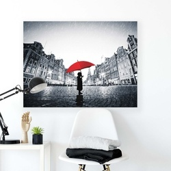 People Canvas Photo Print