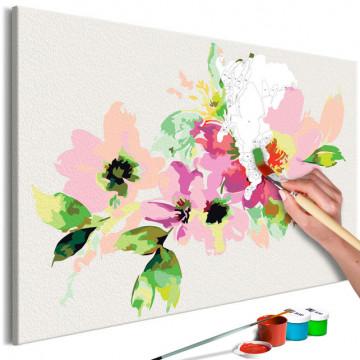 Pictatul pentru recreere - Colourful Flowers