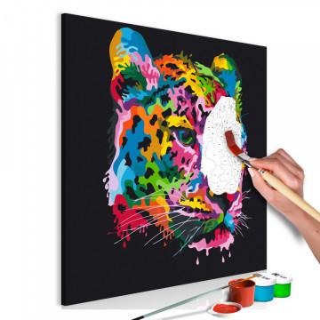 Pictatul pentru recreere - Colourful Leopard