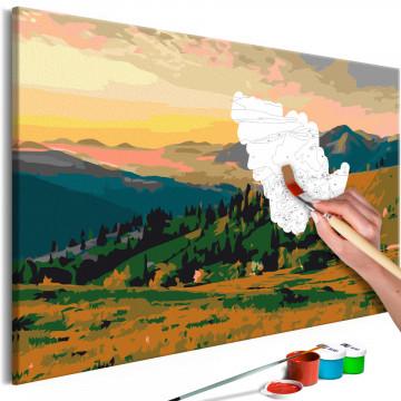Pictatul pentru recreere - Mountains at Sunrise