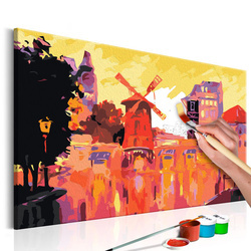 Pictatul pentru recreere - Red Windmill
