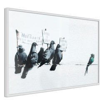 Poster - Banksy: Pigeons