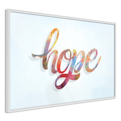 Poster - Colourful Hope
