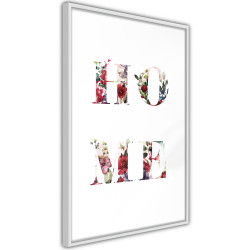 Poster - Floral Home