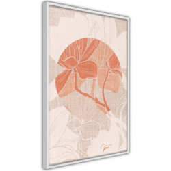 Poster - Flowers on Fabric