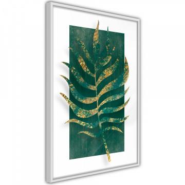 Poster - Gilded Palm Leaf