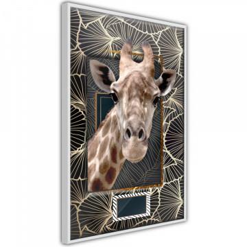 Poster - Giraffe in the Frame