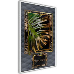 Poster - Monstera in the Frame