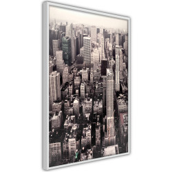 Poster - New York from a Bird's Eye View