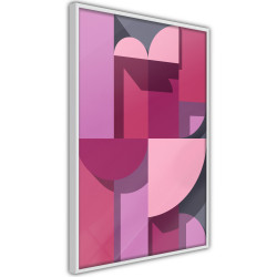 Poster - Pink Geometry