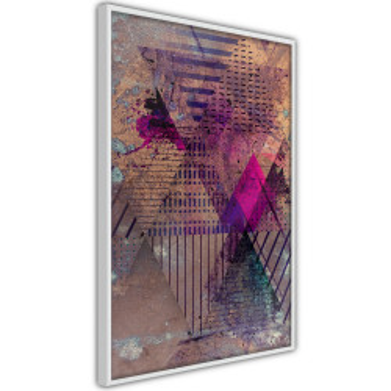 Poster - Pink Patchwork I
