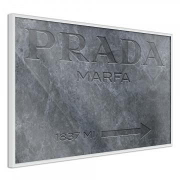 Poster - Prada (Grey)