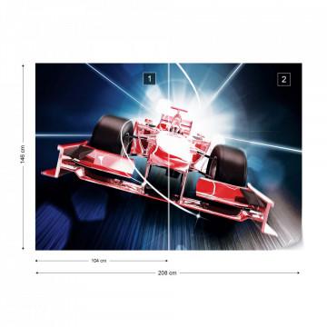 Racing Car Formula 1 Photo Wallpaper Wall Mural