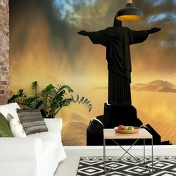 Rio De Janiero Christ The Redeemer Photo Wallpaper Wall Mural