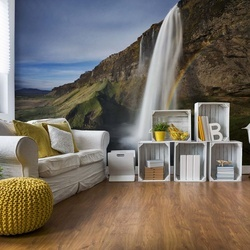 Seljalandsfoss Photo Wallpaper Mural