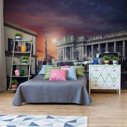 St Kilda Via Bourke Photo Wallpaper Mural