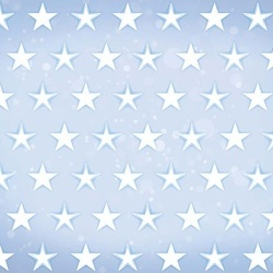 Stars Pattern Light Blue Photo Wallpaper Wall Mural