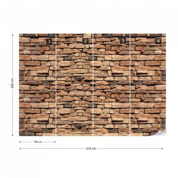Stone Wall Photo Wallpaper Wall Mural