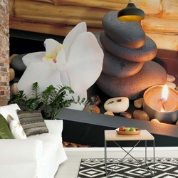 Stones Peaceful Zen Photo Wallpaper Wall Mural