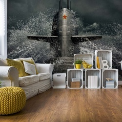 Submarine Photo Wallpaper Mural