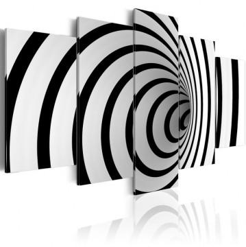 Tablou - A black & white hole